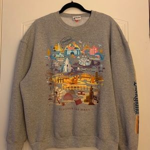 Disneyland resort crew neck